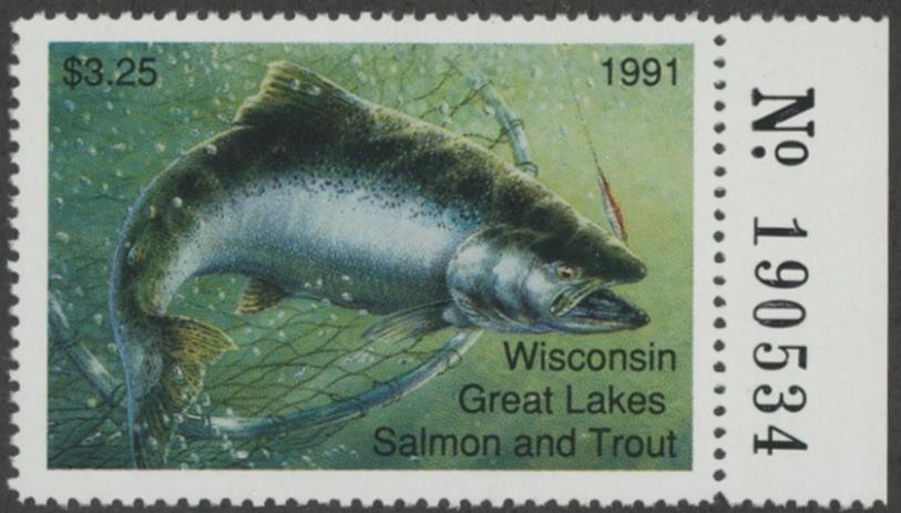 0004746_1991-wisconsin-great-lakes-salmon-trout-stamp