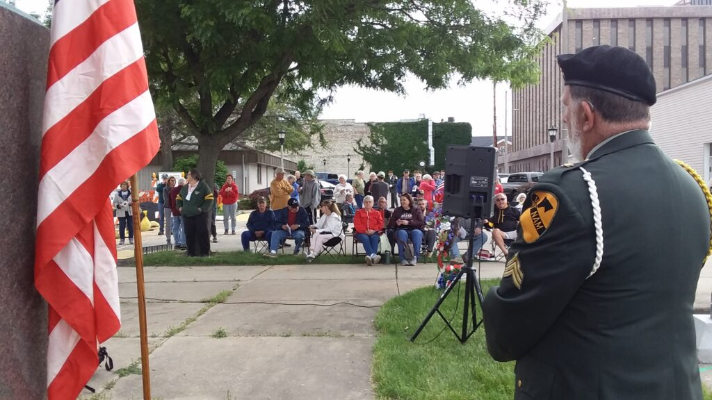 Janesville 99 memorial ceremony