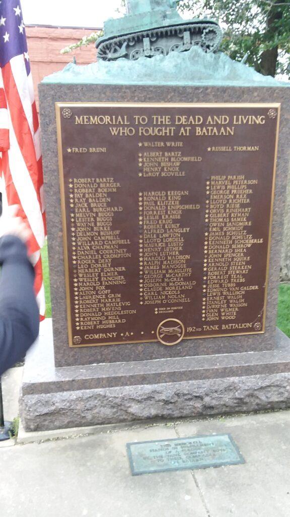 Janesville 99 memorial